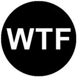 WTF (jelvény, 2,5 cm)