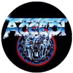 ACCEPT: Logo (jelvény, 2,5 cm)