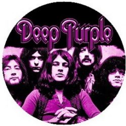 DEEP PURPLE: Band (jelvény, 2,5 cm)
