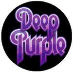 DEEP PURPLE: Logo (jelvény, 2,5 cm)