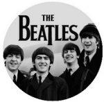 BEATLES: 1964 B/W (jelvény, 2,5 cm)
