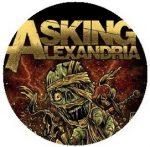 ASKING ALEXANDRIA: Mummy (jelvény, 2,5 cm)