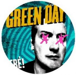 GREEN DAY: Tre! (jelvény, 2,5 cm)