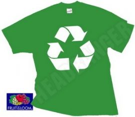 RECYCLING (kelly green)