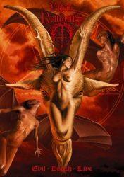 VITAL REMAINS: Evil-Death-Live (DVD, 130', kódmentes)