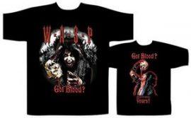 WASP: Got Blood? (póló)