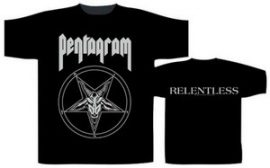 PENTAGRAM: Relentless (póló)