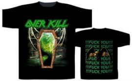 OVERKILL: Fuck You!!! (póló)