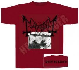 MAYHEM: Deathcrush (póló)