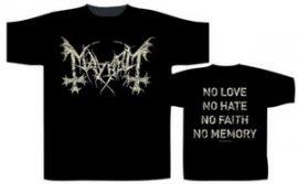 MAYHEM: No Love No Hate (póló)