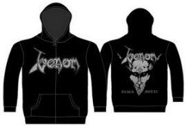 VENOM: Black Metal (kapucnis pulóver, cipzáros)