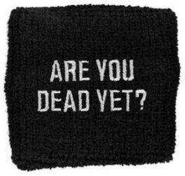 CHILDREN OF BODOM: Are You Dead Yet (frottír csuklószorító)