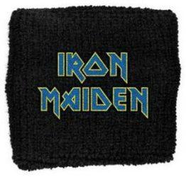 IRON MAIDEN: Flight logo  (frottír csuklószorító)