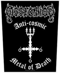 DISSECTION: Anti-Cosmic Metal Of D. (hátfelvarró / backpatch)