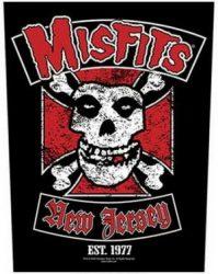 MISFITS: Biker (hátfelvarró / backpatch)