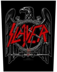 SLAYER: Black Eagle (hátfelvarró / backpatch)