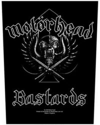 MOTORHEAD: Bastards (hátfelvarró / backpatch)
