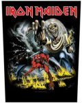 IRON MAIDEN: Number Of The Beast (hátfelvarró / backpatch)