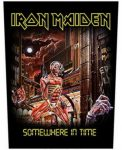 IRON MAIDEN: Somewhere In Time (hátfelvarró / backpatch)
