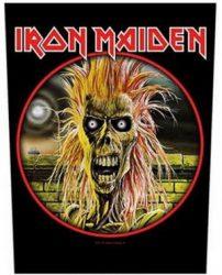 IRON MAIDEN: Iron Maiden (hátfelvarró / backpatch)