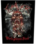 SLAYER: World Painted Blood (hátfelvarró / backpatch)