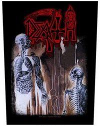 DEATH: Human (hátfelvarró / backpatch)