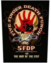 FIVE FINGER DEATH PUNCH: Way Of The Fist (hátfelvarró / backpatch)