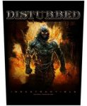 DISTURBED: Indestructible (hátfelvarró / backpatch)
