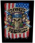 GUNS N' ROSES: Flag (hátfelvarró / backpatch)