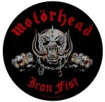 MOTORHEAD: Iron Fist (hátfelvarró / backpatch)