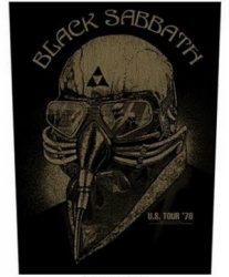 BLACK SABBATH: Us Tour '78 (hátfelvarró / backpatch)