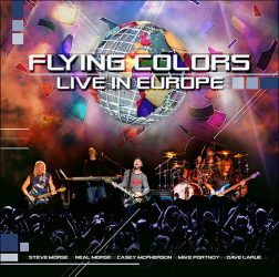 FLYING COLORS: Live In Europe (2CD)