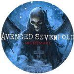 AVENGED SEVENFOLD: Nightmare (jelvény, 2,5 cm)
