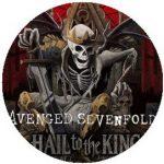 AVENGED SEVENFOLD: Hail To The King (jelvény, 2,5 cm)
