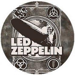 LED ZEPPELIN: Poster (jelvény, 2,5 cm)