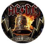 AC/DC: Hells Bells (jelvény, 2,5 cm)