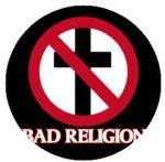 BAD RELIGION: Logo (jelvény, 2,5 cm)