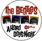 BEATLES: A Hard Day's Night (jelvény, 2,5 cm)