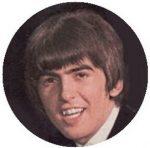 BEATLES: George (1964) (jelvény, 2,5 cm)
