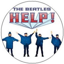 BEATLES: Help! (jelvény, 2,5 cm)