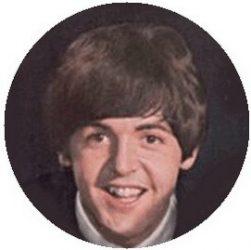 BEATLES: Paul (1964) (jelvény, 2,5 cm)