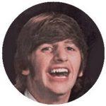 BEATLES: Ringo (1964) (jelvény, 2,5 cm)