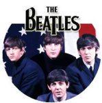BEATLES: USA 1964 (jelvény, 2,5 cm)