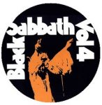 BLACK SABBATH: Vol.4. (jelvény, 2,5 cm)