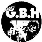 GBH: Band (jelvény, 2,5 cm)