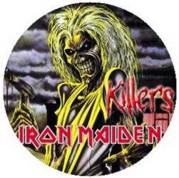 IRON MAIDEN: Killers (jelvény, 2,5 cm)