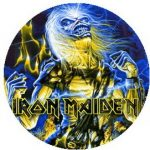 IRON MAIDEN: Live After Death (jelvény, 2,5 cm)