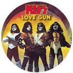 KISS: Love Gun (jelvény, 2,5 cm)