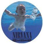 NIRVANA: Nevermind (jelvény, 2,5 cm)