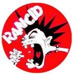 RANCID: Head (jelvény, 2,5 cm)